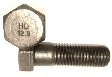 Hex head bolt 12.9 (931)